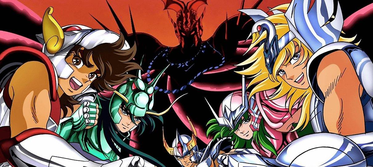 Os Cavaleiros do Zodíaco ganhará ilustrações para celebrar os 35 anos do anime