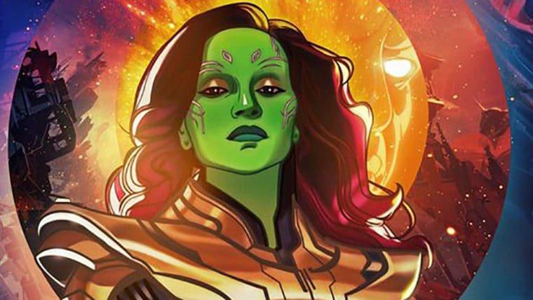 Gamora usa armadura de Thanos em pôster do episódio final de What If...?