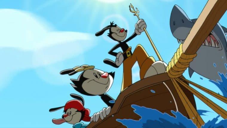 Animaniacs promovem caos em Roma, Arca de Noé e mais no trailer da 2ª temporada
