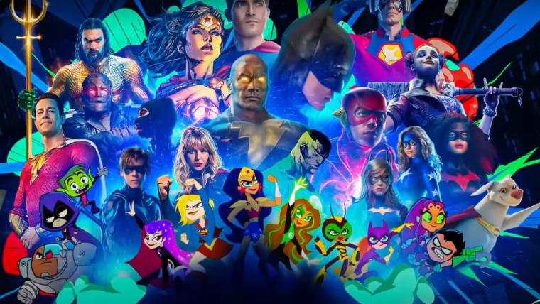DC FanDome ganha teaser com foco nos talentos que estarão no evento