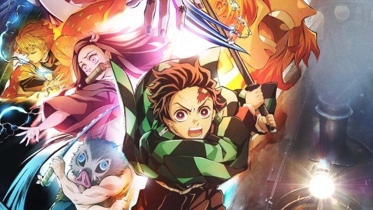 Filme de Demon Slayer e dublagem brasileira do anime chegam ao Crunchyroll
