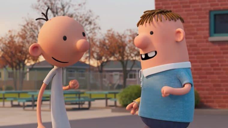 Greg tenta sobreviver ao ensino fundamental no trailer da animação de Diário de um Banana