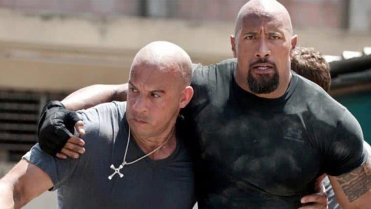 Dwayne Johnson volta a falar da briga com Vin Diesel nos bastidores de Velozes e Furiosos