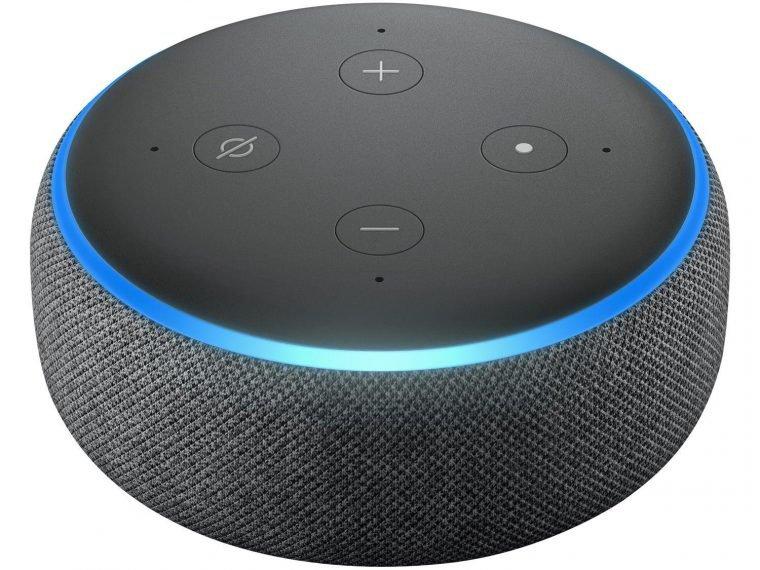 Echo dot (3ª geração) é um dos itens da semana de ofertas Alexa na Amazon