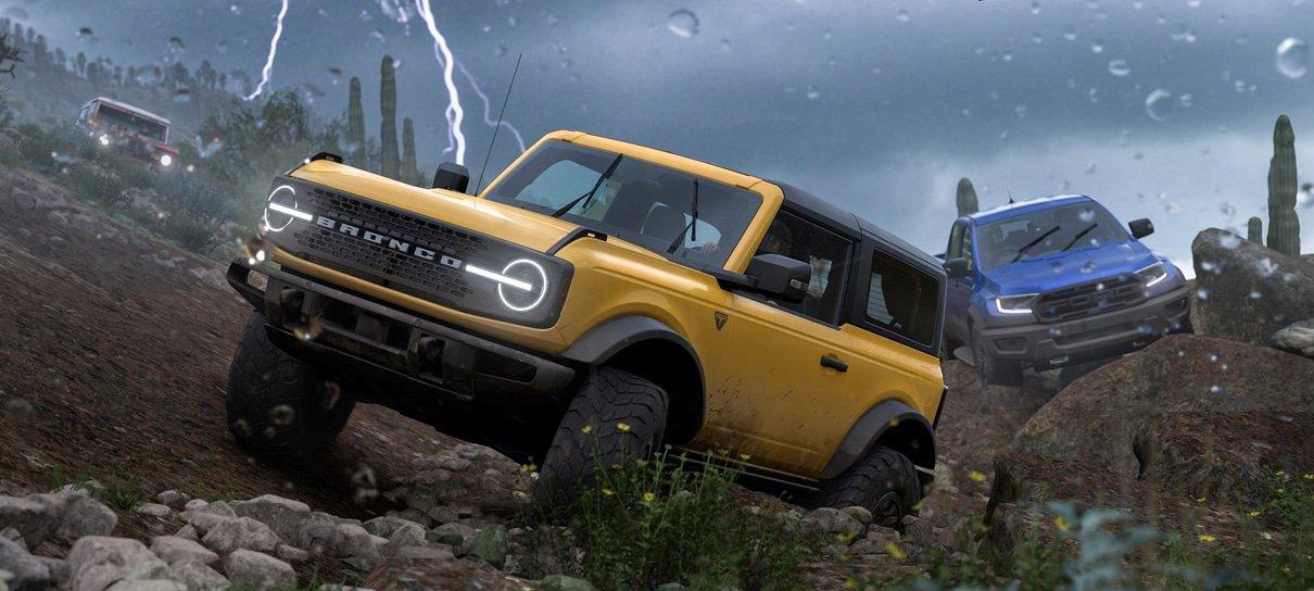 Forza Horizon 5 traz gameplay clássico da franquia em novos cenários exuberantes