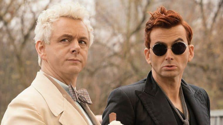Showrunner mostra David Tennant e Michael Sheen de volta nos bastidores de Good Omens