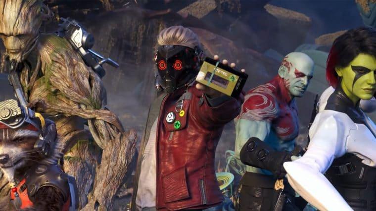 Guardiões da Galáxia partem para o plano b no novo trailer do game; veja
