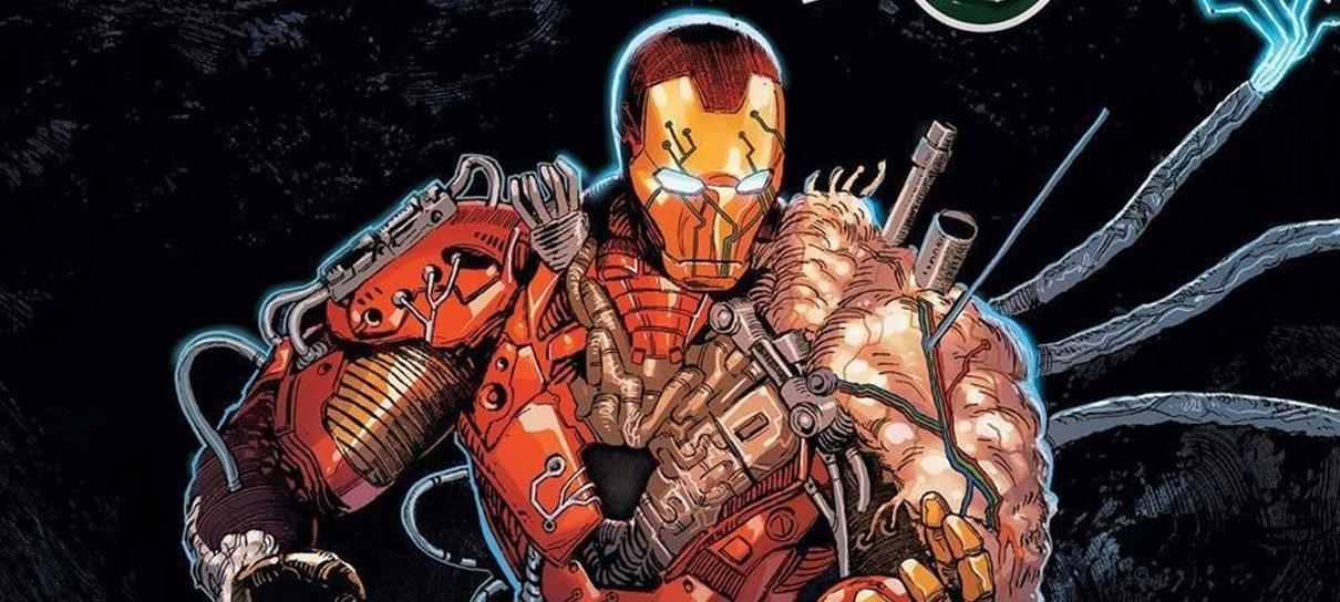 Homem de Ferro ganha armadura bizarra em HQ sobre Darkhold, o livro sombrio de WandaVision