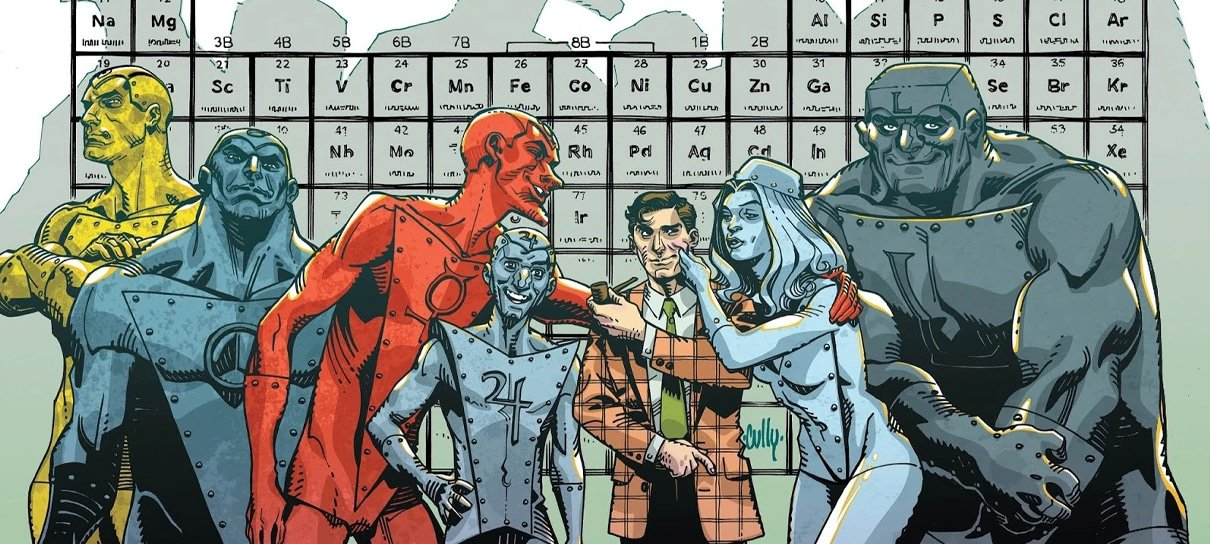 DC voltou a desenvolver filme dos Homens Metálicos, confirma diretor