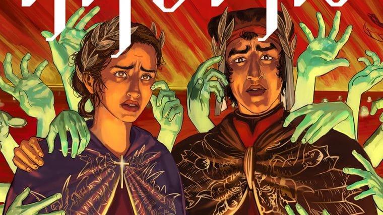 Inferno, HQ que homenageia A Divina Comédia, busca financiamento coletivo
