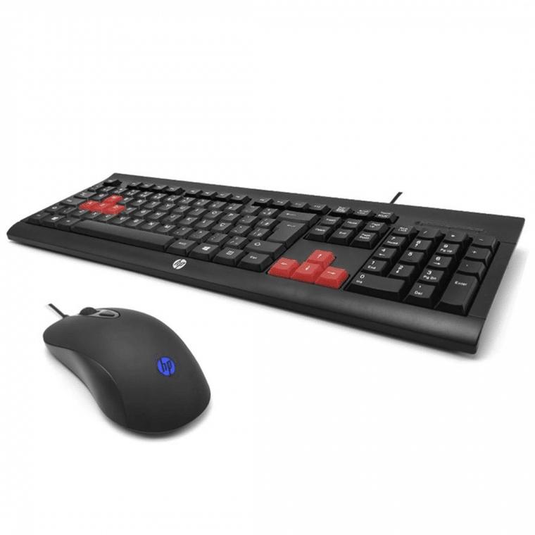 kit gamer da Hp é um dos produtos gamers de até R$ 150 do NerdBunker