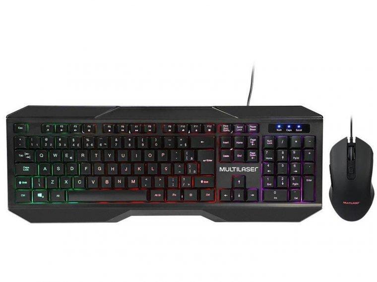 kit gamer da Multilaser é um dos produtos gamers de até R$ 150 do NerdBunker