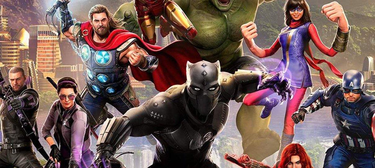 Marvel's Avengers passa a ter opção de compra de bônus de EXP