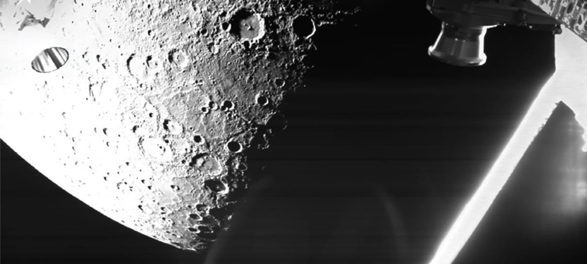 Missão espacial para Mercúrio divulga imagens do planeta mais próximo do Sol