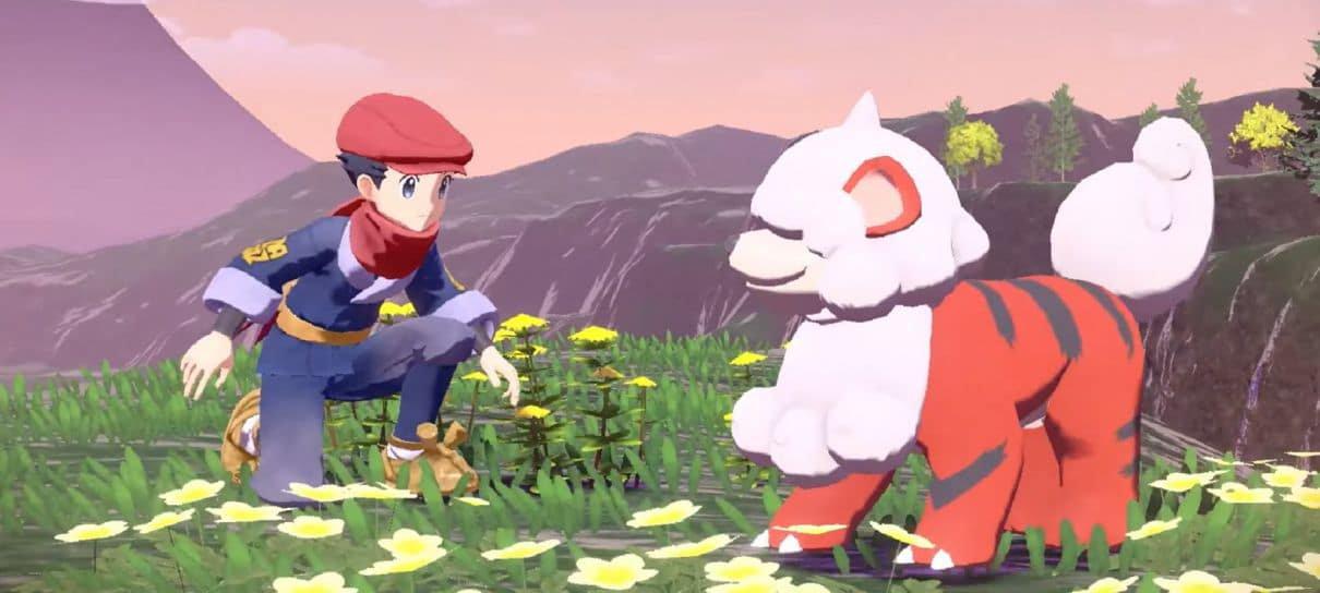 Pokémon Legends: Arceus não terá um mundo aberto