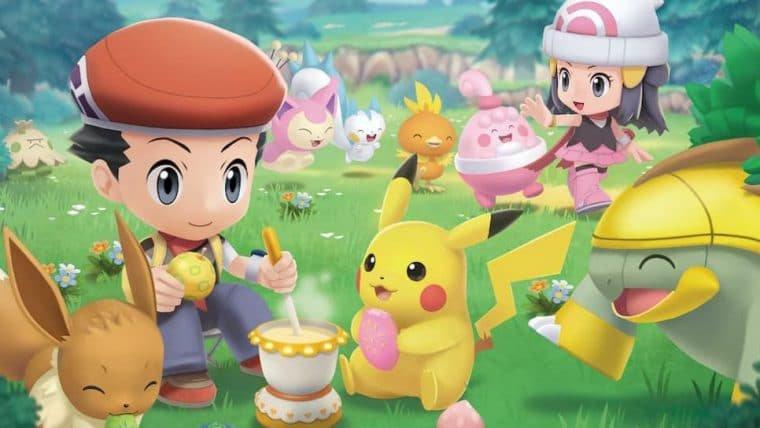 Confira a fofura do novo vídeo de Pokémon Brilliant Diamond e Shining Pearl