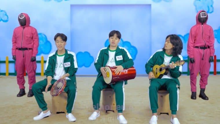 Grupo coreano de pagode faz cover de Péricles para celebrar sucesso de Round 6 no Brasil