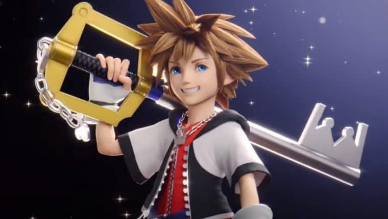 Sora, de Kingdom Hearts, é último personagem DLC de Super Smash Bros. Ultimate