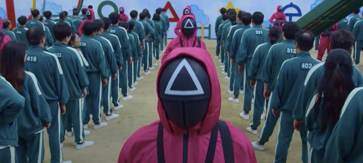 Netflix é processada na Coreia do Sul pelo aumento de consumo de rede com Round 6