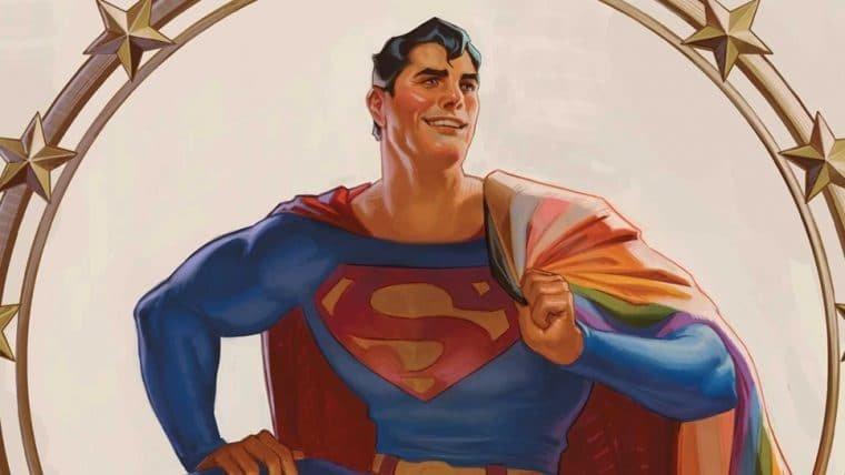 Novo Superman é bissexual e que bom que o mundo não é mais como