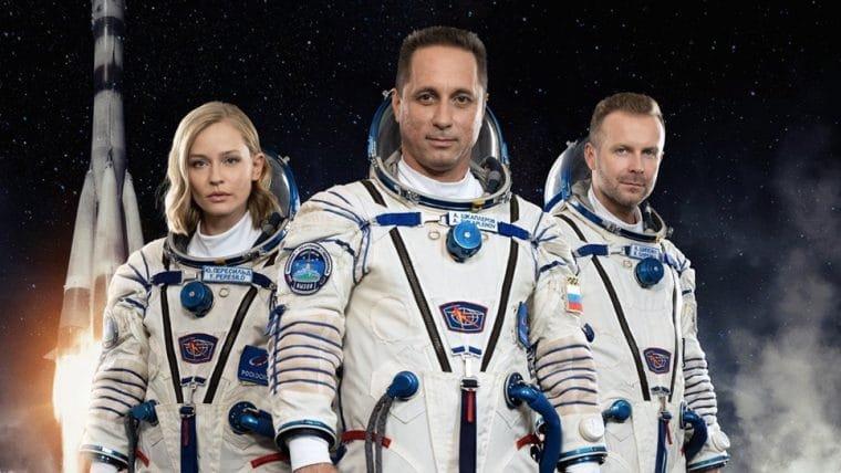 Equipe do filme The Challenge é enviada em foguete para gravar primeiro longa no espaço