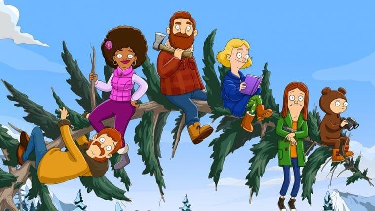 The Great North, série animada das roteiristas de Deadpool 3, chega ao Star Plus