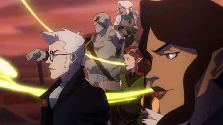Confira o trailer de The Legend of Vox Machina, animação baseada no RPG do Critical Role
