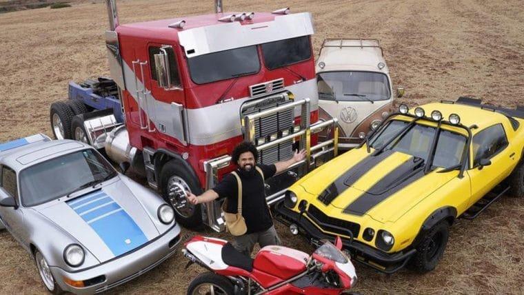 Diretor do novo Transformers mostra visual de Optimus Prime, Bumblebee e mais