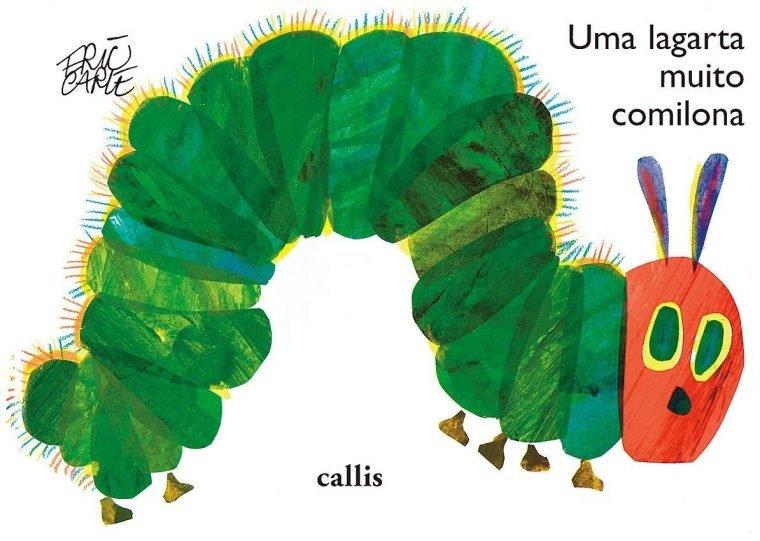 Uma lagarta muito comilona é um dos clássicos infantis em diferentes faixas etárias do NerdBunker