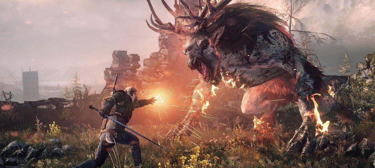 Vídeos mostram The Witcher 3 rodando no Steam Deck