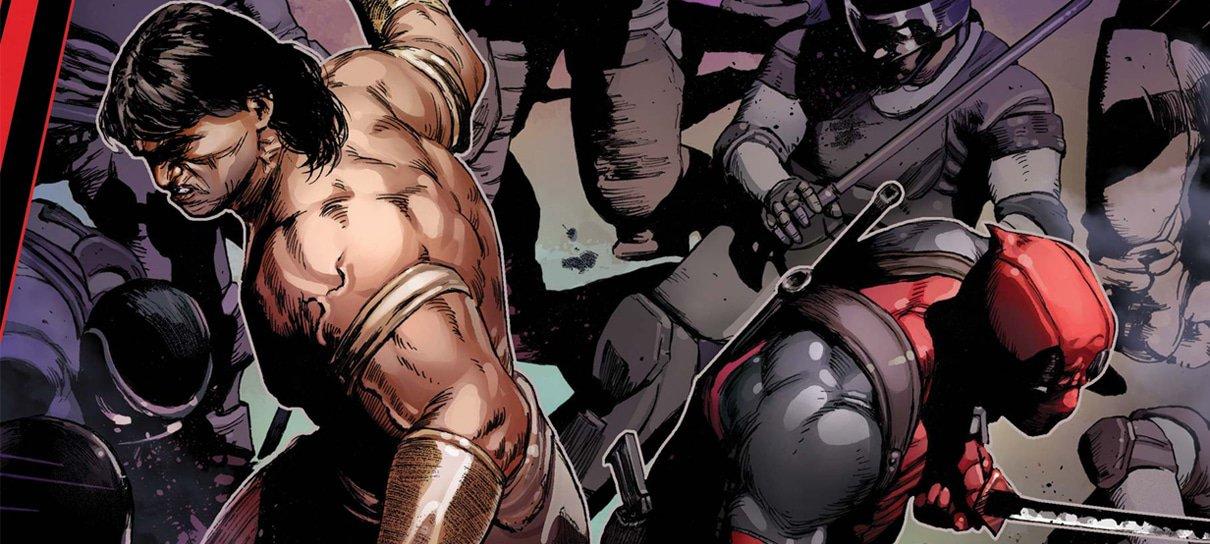 HQ dos Vingadores com encontro entre Deadpool e Conan chega ao Brasil