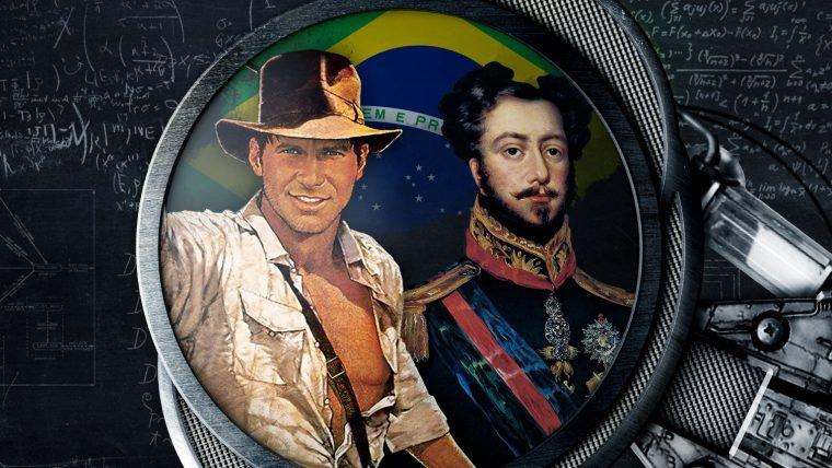 O Império Brasileiro, Indiana Jones e os primeiros museus