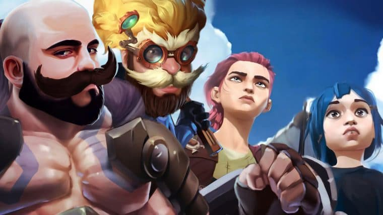Trailer League of Legends: Arcane – BUNITO demais!