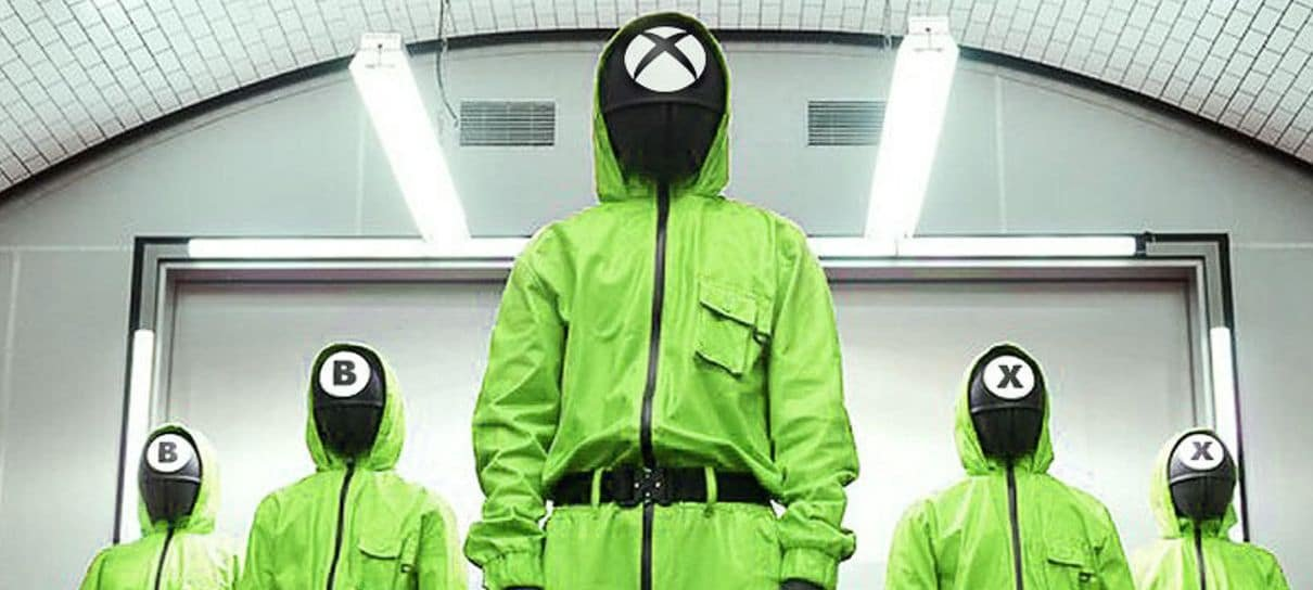 Xbox brinca com os símbolos de Round 6: