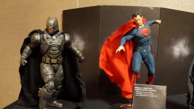 [SDCC]  Miniaturas realistas da DC dedicadas aos games e séries