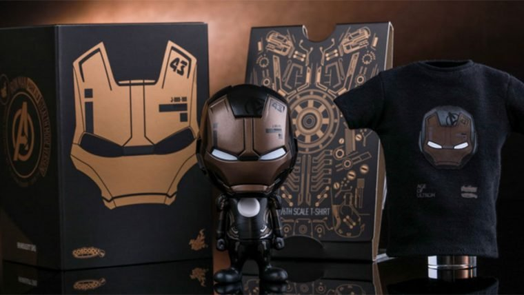Hot Toys revela o cosbaby de Iron Man Mark XLIII versão Stealth