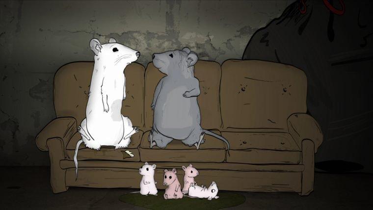 Animals. é uma série animada da HBO que fala sobre a fauna de Nova Iorque
