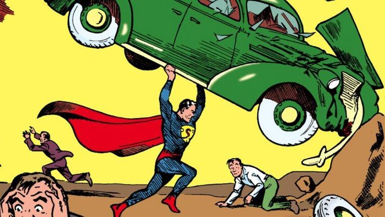 [SDCC] LEGO homenageia capa da Action Comics com o Super Homem
