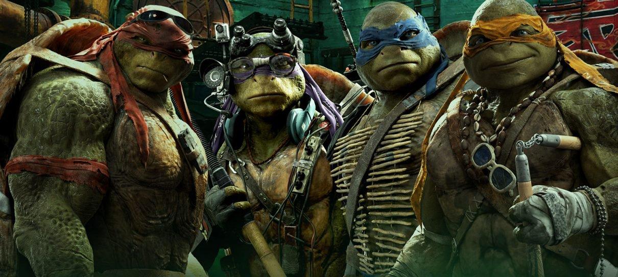 Paramount está produzindo mais um reboot de Tartarugas Ninjas