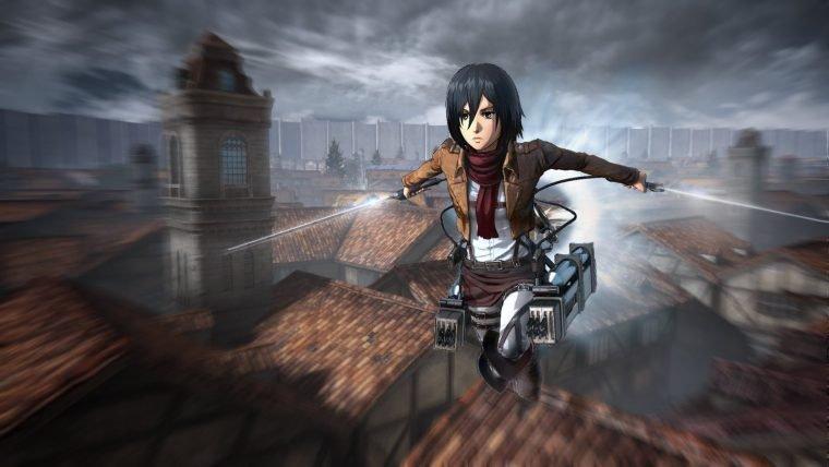 Veja o novo trailer do jogo de Attack on Titan