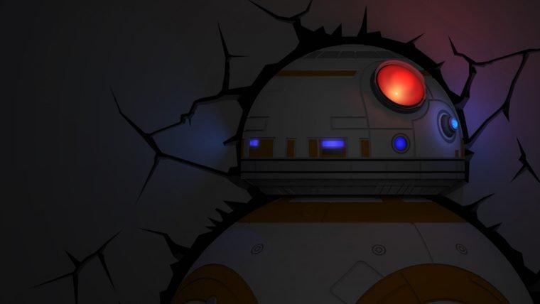 Luminárias Star Wars serão vendidas EXCLUSIVAMENTE na Nerdstore durante a CCXP