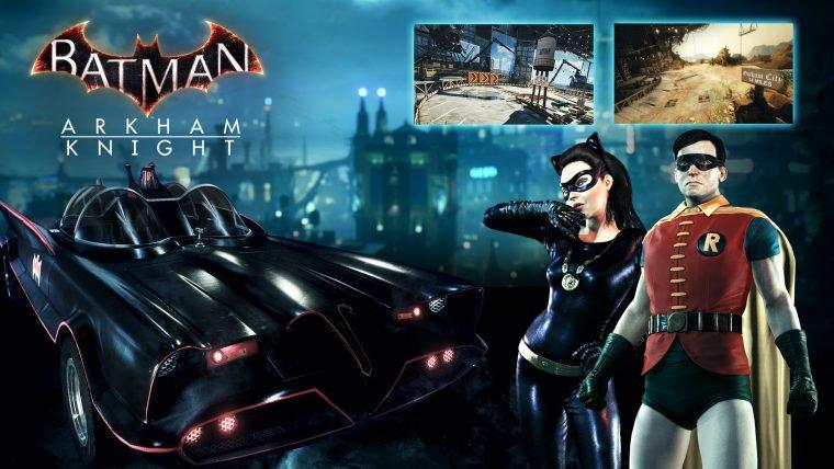 Novo DLC de Batman: Arkham Knight adiciona Batmóvel classico ao jogo