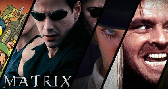 The Matrix is orange!