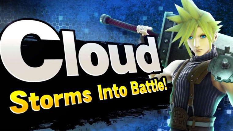 Cloud, de Final Fantasy VII, será adicionado em Super Smash Bros.