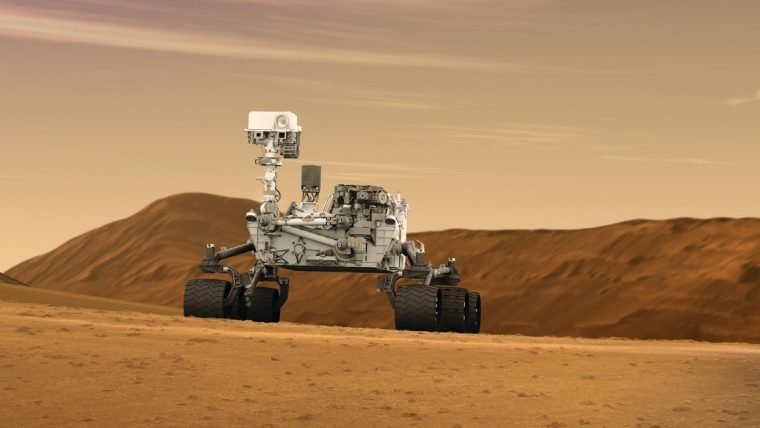 Explore Marte com o simulador da sonda Curiosity