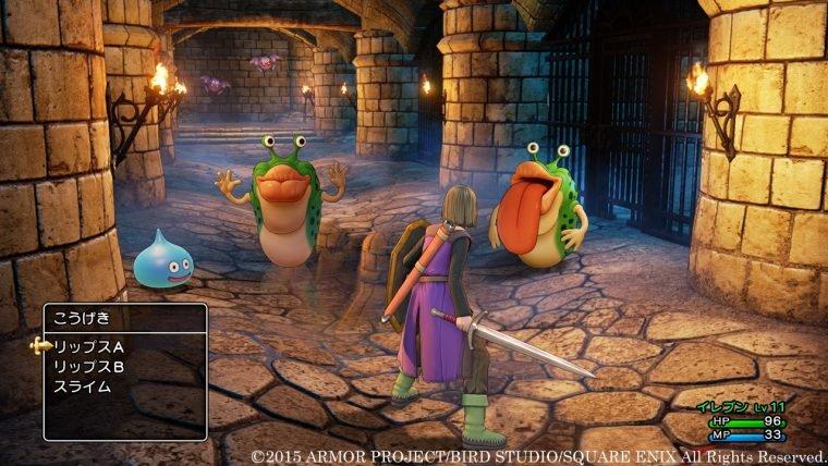 Dragon Quest XI está bem bonito nas suas primeiras imagens