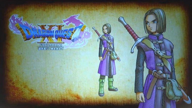 Dragon Quest XI anunciado para PS4 e 3DS. Pode sair para NX