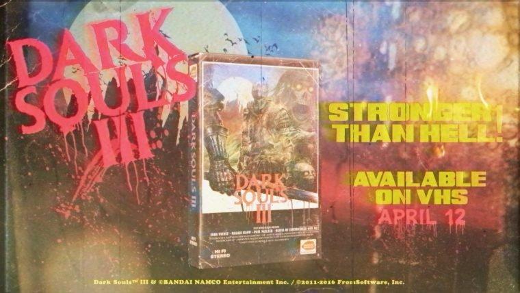 Vídeo imagina Dark Souls 3 como um filme de VHS