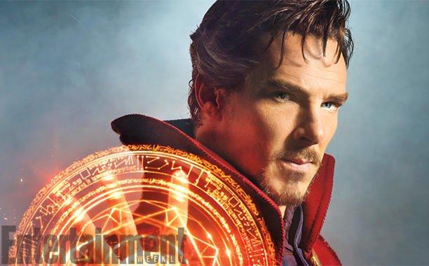 [Atualizado] Veja as primeiras imagens de Benedict Cumberbatch como Doutor Estranho