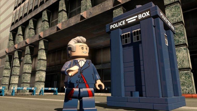 [SDCC] Doctor Who se junta ao elenco de LEGO Dimensions